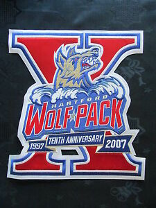 Hartford Wolf Pack Patch AHL Hockey CCM Jersey Crest A