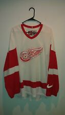 Detroit Red Wings Nike Vintage 1990s Sewn/Stitched Jersey - Men's 2XL