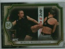 MICHELLE WATERSON 2018 Topps UFC Museum Collection GOLD 46/75