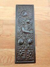 BRONZE FINISH ARTS & CRAFTS FINGER DOOR ⭐️⭐️⭐️⭐️⭐ PUSH PLATE FINGERPLATE