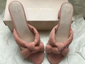 Loeffler Randall Elsie Women's Sandals Melon Dusty Pink Nude 8