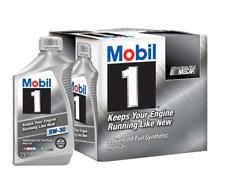 Mobil 1 5W-30 Advanced Full Synthetic Motor Oil 6 Pack 1 qt Bottle