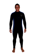 5mm Rear Zip Wetsuit - Large - TommyDSports Dive Bye Stretch Series - 5100