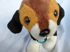 "Nintendogs Beagle Puppy Dog 12"" Interactive Plush Toy Stuffed Animal"