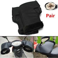 Pair Motorcycle Bike Grip HandleBar Muffs Waterproof Winter Warmer Thermal Glove