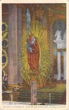 The Statue In The Basilica Anne De Beaupre Quebec Canada Unposted Postcard