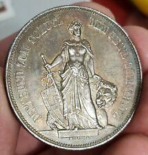 Monnaie argent 5 Francs concours Tir de Berne 1885 Suisse - très belle patine -