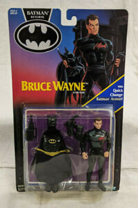 Kenner Batman Returns Bruce Wayne Action Figure - Sealed - 1991