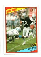 1984 TOPPS MARCUS ALLEN INSTANT REPLAY (NM/MT)