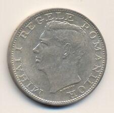 ROMANIA 500 lei - silver, 1944, XF