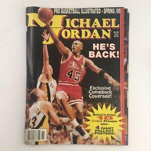 Pro Basketball Illustrated Spring 1995 Michael Jordan Include Poster No Label VG