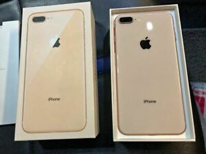 USED Apple iPhone 8 Plus 64GB Gold - Factory Unlocked,Complete