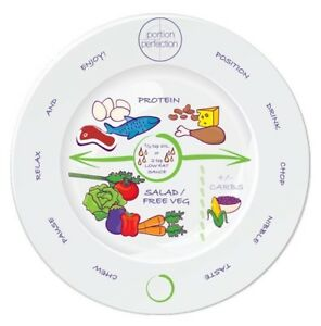 Portion Perfection Portion Control Bariatric Plate - Melamine