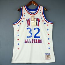 100% Authentic Magic Johnson Mitchell Ness 1983 All Star Game Jersey Size 48 XL