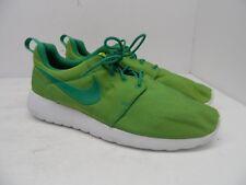1799c7c0ff1 Nike Men s Roshe One Premium Athletic Casual Shoe Lucid Green Vivid Sulfur  11M