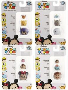 Disney Tsum Tsum Series 2 Stackers 3 Pack 12 Figures NIP