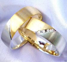 Brillante Trauringe aus Silber