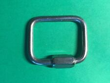 """Stainless Steel 316 Square Quick Link 5/32"""" (4mm) Marine Grade Boating Rigging"""