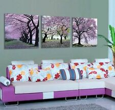 3 Panel Decor Art Painting Trees Large Picture HD Canvas Wall Room Home Artwork