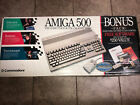 Working NTSC Amiga 500, In Box W/ Deluxe Paint And Extras picture