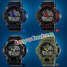 Hombres G Fecha Tipo analógico-digital impermeable S-Shock Reloj deportivo