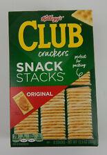 Kellogg's Club Original Crackers Snack 6 Stacks 12.5 oz Exp. 7/2021