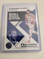 2019-2020 Panini Chronicles Steph Stephen Curry Warriors Gem Mint