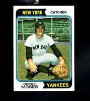 1974 Topps # 19 Gerry Moses Ex-Mt