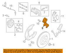 FORD OEM 15-18 Mustang Brake-Rear-Caliper Mount FR3Z2B511C