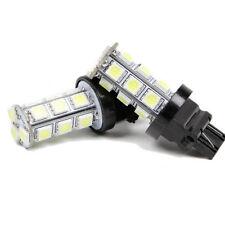 2 Pcs 3157 Amber 18SMD 5050 LED Reverse Back Up Brake Stop Turn Tail Light Bulbs