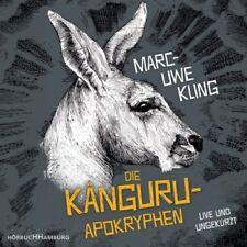 Die Känguru-Apokryphen, 4 Audio-CDs (Hörbuch) NEU
