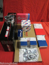 Ford 351W 5.8 5.8L Mercruiser/OMC/Volvo Marine Engine Kit Pistons+Rings 2PC STD