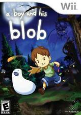 A Boy and His Blob Wii Played Nintendo Wii Game Flat 99c Shipping per order