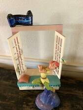 "Wdcc Disney Peter Pan ""Off to Neverland Base"" Window&Peter Pan Figurine&Film"