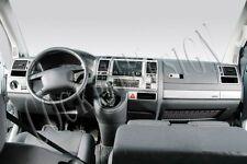 Cockpit Décor vw t5 Caravelle Climatronic à partir de Bj. 2003-2009 alu look 31 pces NEUF