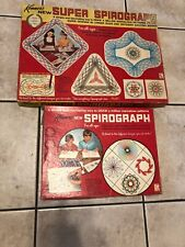 Super Spirograph Kenner 1969 Vintage 2400 And 401 W/ Extras Lot