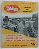 Kadee Components For Scale Railroads Model Train Catalog Pricing Part Pages 1967