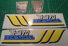 1977 77' honda CT-70 CT70 4pc Vintage Frame decals, stickers,graphics kit