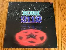 RUSH 2112 ORIGINAL LP GERMAN PRESSING  1976