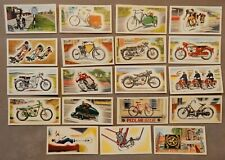 More details for cycles and motorcycles  vintage trade cards ,priory tea i-spy 1963  x19