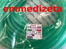 Tubo benzina silicone diametro 4X7 mm verde prezzo al metro - scooter vespa moto