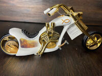 Bradford Exchange Chopper Holy Roller Religious Relic Lord Decor Gold White