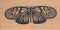 "heliconiae dewey ink  Wood Mounted Rubber Stamp 3 1/2 x 1 3/4""  Free Shipping"