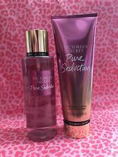 Victoria's Secret Pure Seduction Body Mist 8.4 fl oz & Lotion 8 fl oz, Full Size