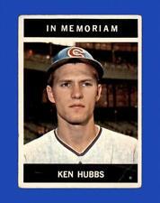 1964 Topps Set Break #550 - Ken Hubbs MEM LOW GRADE (crease) *GMCARDS*