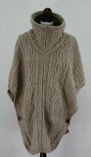 ARANCRAFTS 100% Merino Wool Jumper Cape Size S/M
