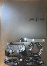 Sony PlayStation 3 PS3 CECH-2501A Slim 150GB Black Console TESTED