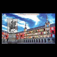 Spain 2018 - 500th Anniversary of the Plaza Mayor, Madrid Architecture - MNH