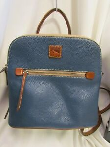 Dooney & Bourke Pebble Leather Backpack Handbag JEAN $248