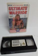 Vhs-WWE WWF Silver Vision Collector's Series Ultimate Warrior 1990 lucha libre
